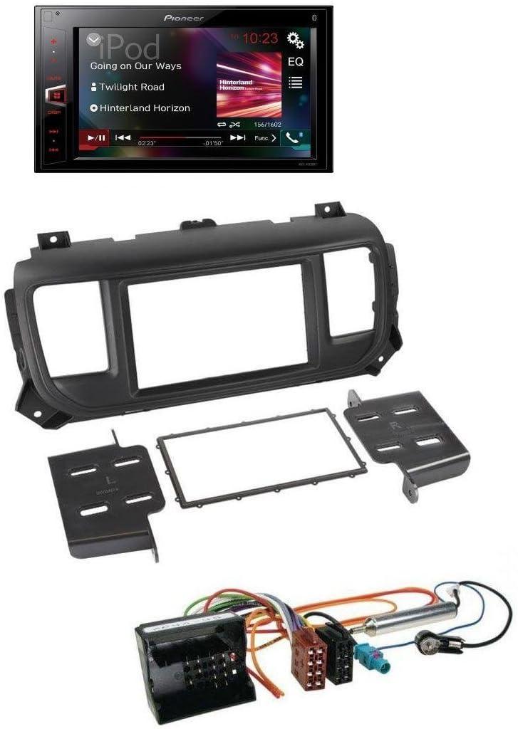 Pioneer av29 0bt Bluetooth MP3 USB 2DIN AUX Radio de coche para Citroën Jumpy Dispatch a partir de 2016 spacetourer a partir de 2016: Amazon.es: Electrónica