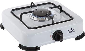 ElectrodomesticosN1 Pack Hornillo a Gas Jata CC703 Blanco, 1 ...