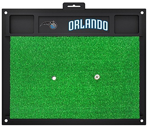Fanmats NBA Orlando Magic Team Logo 20 X 17 Inch Golf Hitting Mat Heavy Duty by New Fanmats