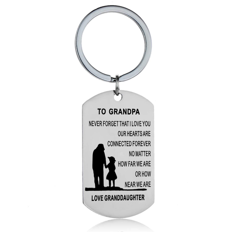 Regalos de abuelo de nieta nieta llavero regalo para abuelo ...
