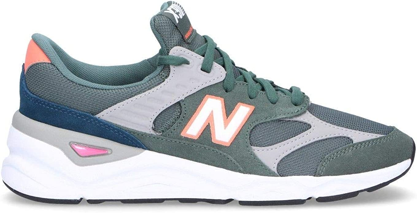 Luxury Fashion | New Balance Hombre MSX90RCG Verde Zapatillas ...
