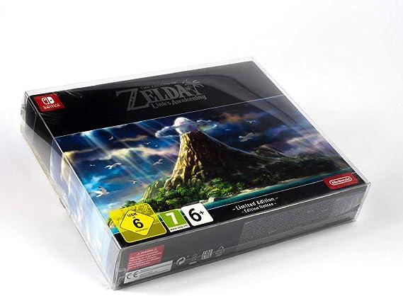 Funda protectora para Zelda Links Awakening Edición limitada Embalaje original Caja de PET Protector 0.5 mm FUERZA Precisa y cristalina Nintendo Switch: Amazon.es: Videojuegos