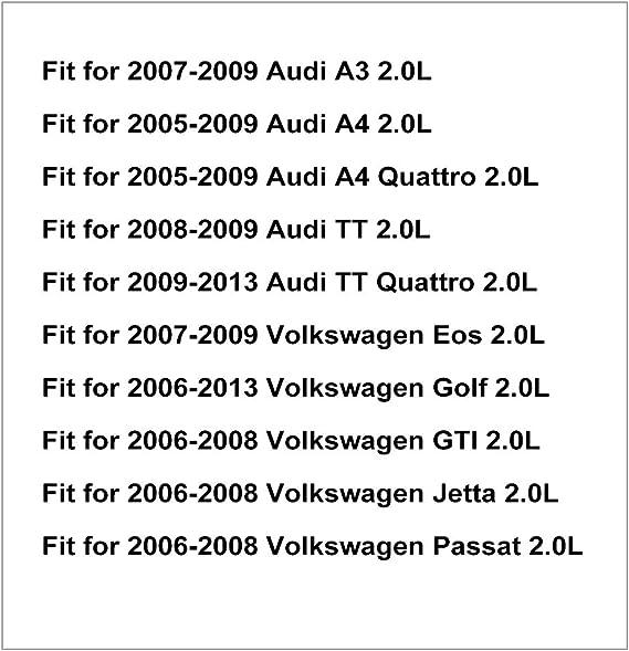 uxcell/® 06F109257A 06F109257C Engine Variable Timing Solenoid Valve VVT for 2009-2013 Audi TT Quattro 2.0L