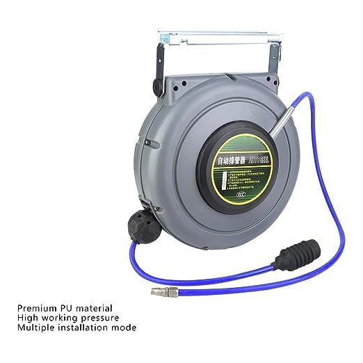 Tambor de manguera de aire comprimido Poppstar Premium