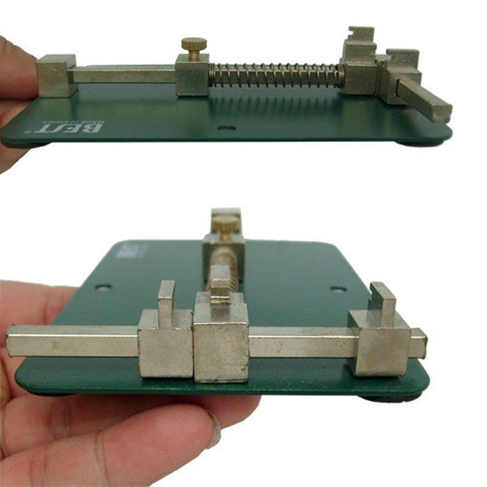 Heroneo Universal Pcb Fixtures Holder Mobile Phone Repairing Metal Circuit Board Repair Tool For Soldering Iron Rework
