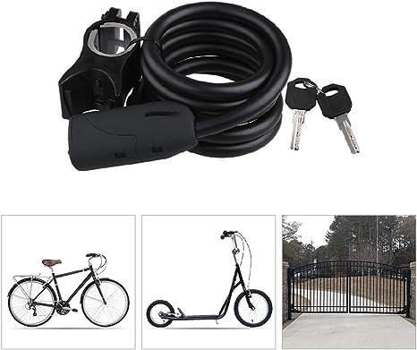 KuaiKeSport Candado Bici,Candado Bicicleta Cilindro de Bloqueo de ...