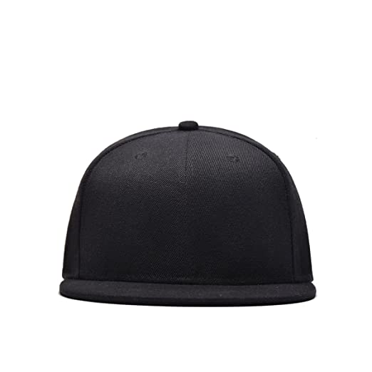 31348c4d3 New Men Blank Plain Snapback Hats Unisex Hip-Hop Adjustable Bboy ...