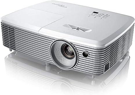 Opinión sobre Optoma EH400 Video - Proyector (4000 Lúmenes ANSI, DLP, 1080P (1920 x 1080), 22000:1, 16:9, 708.2 - 7754.6 mm (27.9 - 305.3