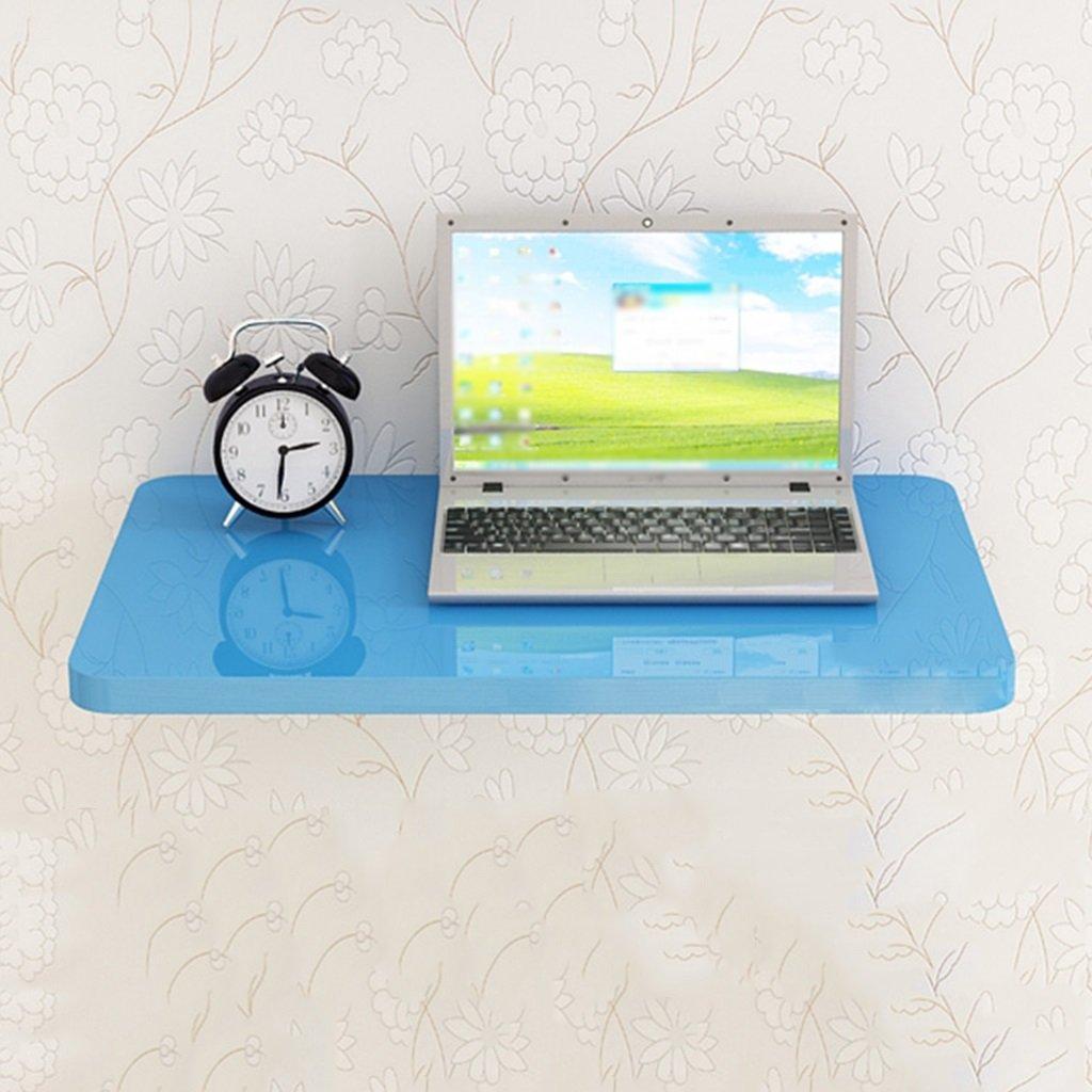 ブルー壁掛け折り畳みダイニングテーブルコンピュータデスク壁掛けストレージシェルフ ( サイズ さいず : 90cm*50cm ) B07BSY6G1F 90cm*50cm 90cm*50cm