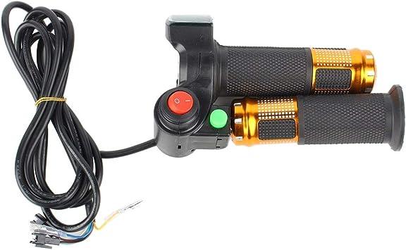 Wolfgo Empuñaduras de Acelerador de Bicicleta eléctrica Grip-Twist ...