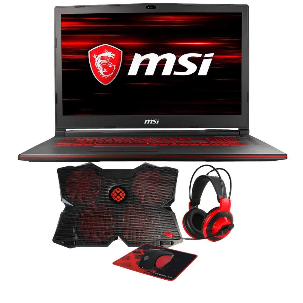 Amazon.com: MSI GL73 8RC-032 (i7-8750H, 16GB RAM, 128GB SATA SSD + 1TB HDD, NVIDIA GTX 1050 4GB, 17.3