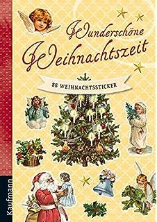 Nostalgische Weihnachtsbilder.Stickerbuch Nostalgische Weihnachtssticker Aufkleber Mit