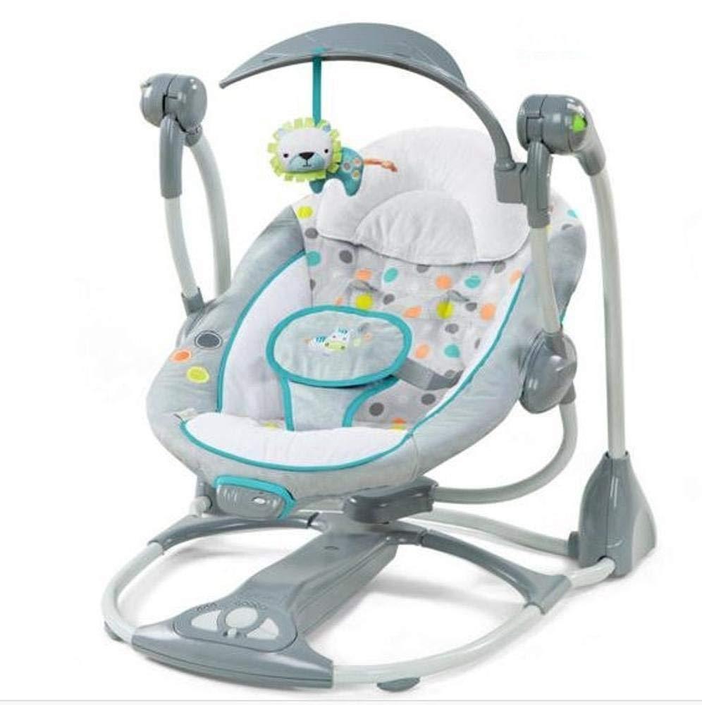 Hongge Hamaca Bebe,Eléctrico Swing Mecedora recién Nacido bebé ...