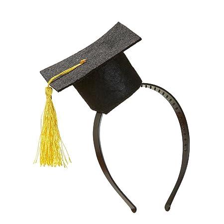 NET TOYS Tocco accademico diploma o laurea mini-tocco per conseguimento  titolo di studio accessorio scherzoso per studenti  Amazon.it  Giochi e  giocattoli 6e75534aea5f