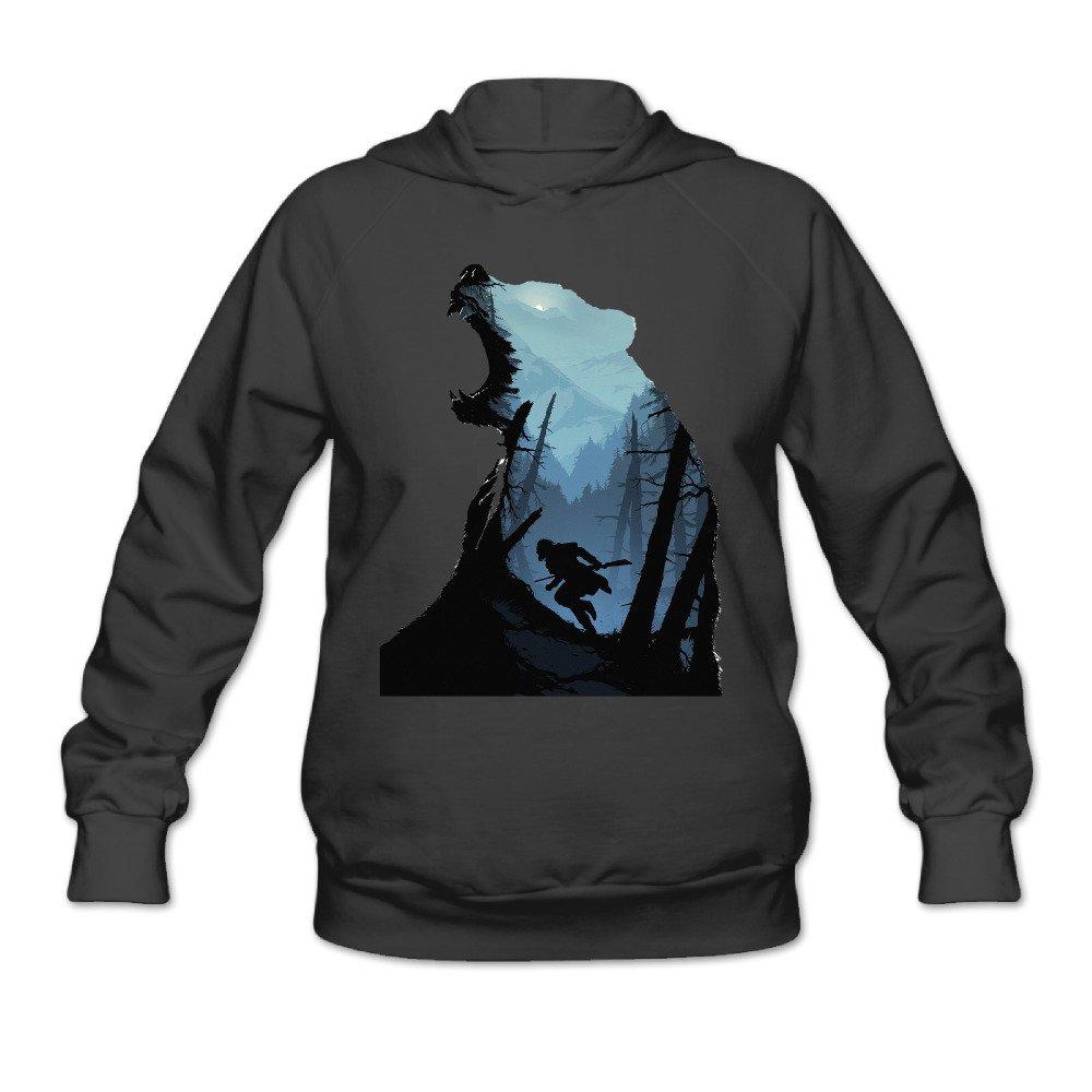 40dd0083b72b Boro Lin Women s The Man In The Wolf Revenant Sweater Size XXL Black ...