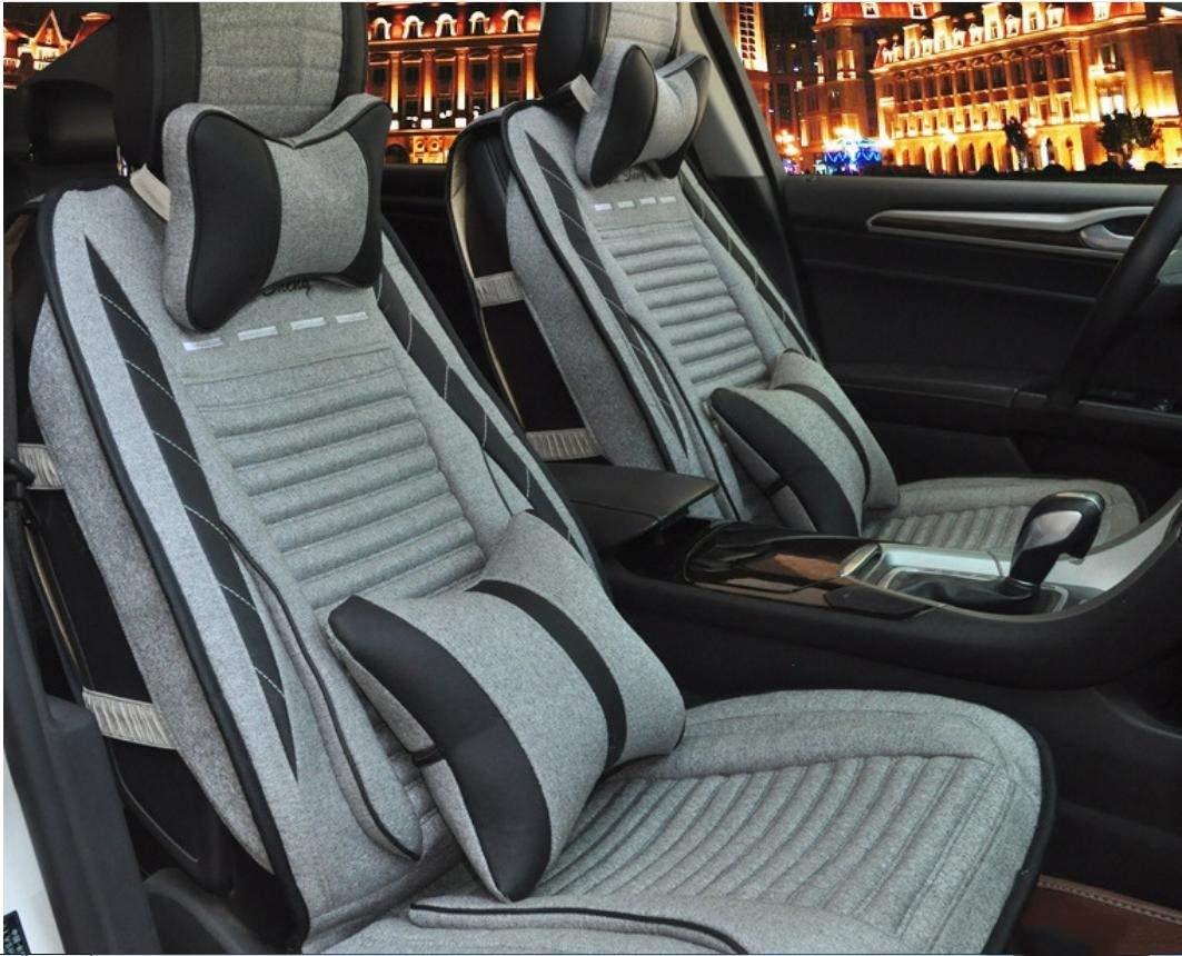 2018セール カーカーシートプロテクター用シートカバー 2 一般的な車のクッションカバーリネンデラックス版(10セット)一般的な車のクッションカバーフォーシーズンズユニバーサル3色のオプション カーシートクッションカーシートマット 2 (色 : 1) B07PHQS5BX 2 (色 2, A-Zakka:5888f09d --- arianechie.dominiotemporario.com