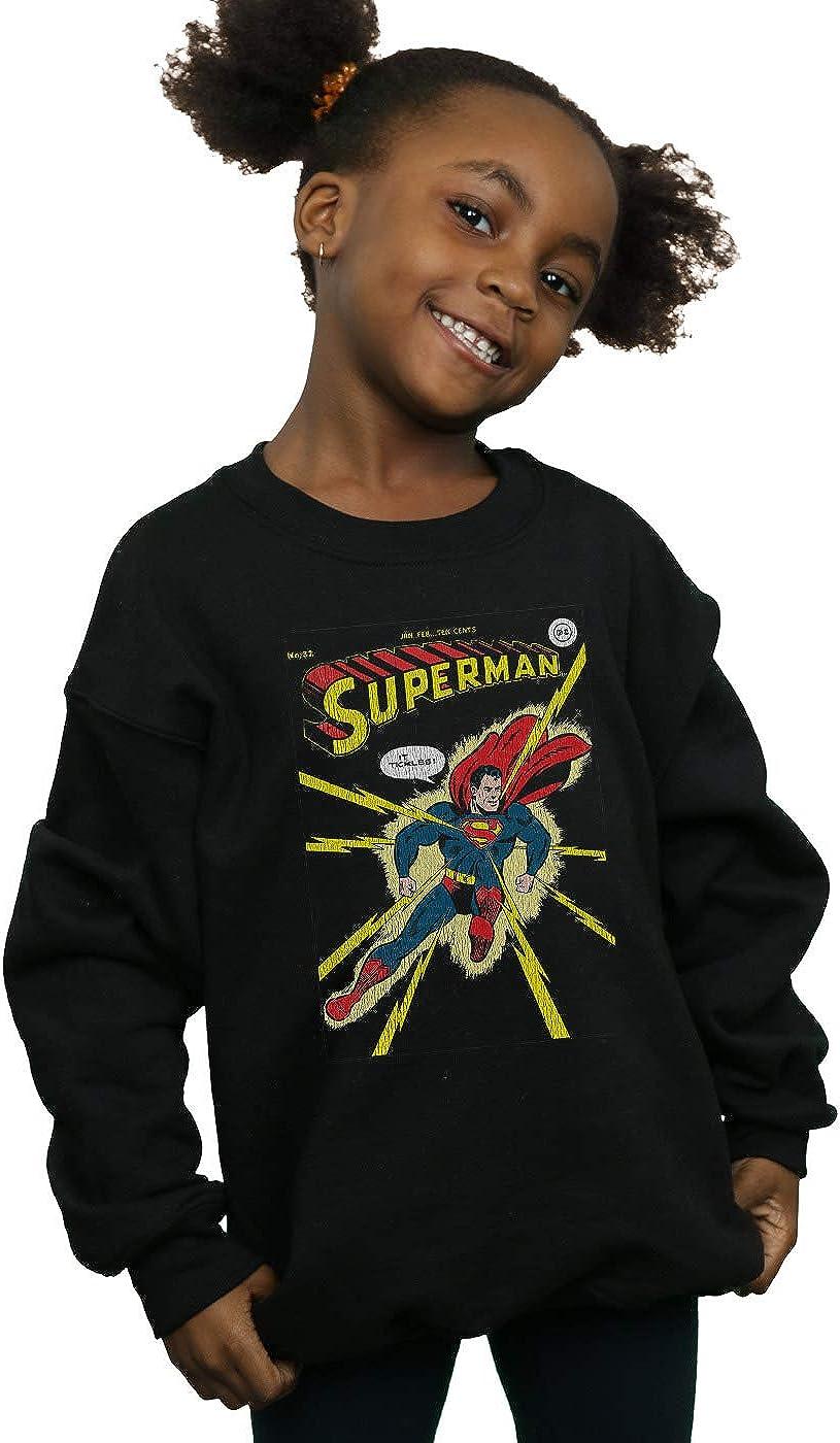 DC Comics Girls Superman No 32 Cover Sweatshirt
