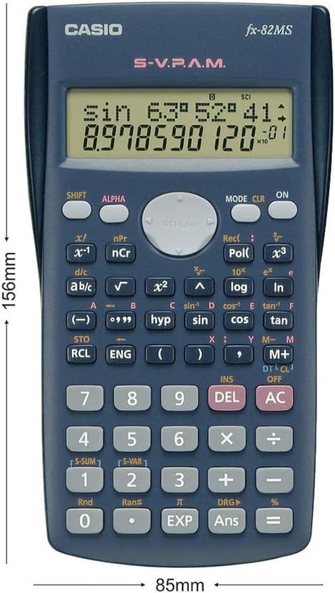 Casio FX 82 MS 2 Geometrie Set Lern-CD Schutztasche