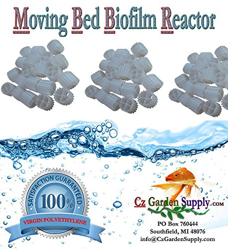 [K1 MICRO] Filter Media Moving Bed Biofilm Reactor (MBBR) for Aquaponics  Aquaculture  Hydroponics  Ponds  Aquariums by Cz Garden Supply