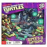 Teenage Mutant Ninja Turtles Super 3-D Dartboard