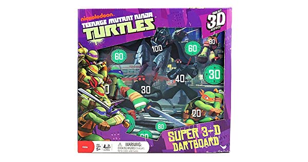 Amazon.com: Teenage Mutant Ninja Turtles Super 3-D Diana ...
