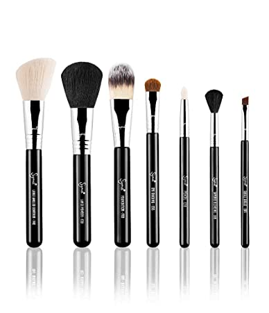 Sigma Beauty |Travel Brush Kit - Make Me Classy | 7 Piece Makeup Brush Set
