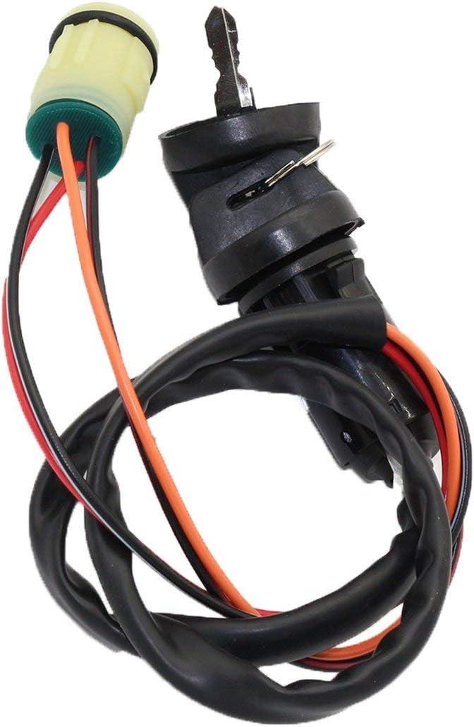 Noradtjcca Ignition Key Switch for Honda TRX350 TRX400 TRX420 TRX450 TRX500 TRX650 TRX680 Foreman 450 Rancher 420 TRX450ES TRX450FE