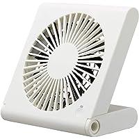 卓上扇風機 スリムコンパクトファン USB扇風機 卓上 扇風機 クリップ式 小型 軽量 静音 usb充電式 角度調整 大風量