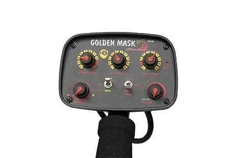 GoldenMask GM4 Detector de metales sensibilidad ajustado discriminación: Amazon.es: Bricolaje y herramientas