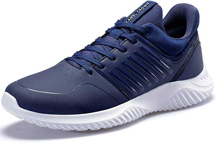 CAMEL CROWN Mens Sneakers Running Shoes Lightweight Casual Walking Training Sports Athletic Shoes