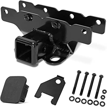Seven Sparta Receiver Hitch for 2018-2019 Jeep Wrangler JL//JLU 2 Door /& 4 Door with 2 Inch Receiver Jeep Tow Hitch