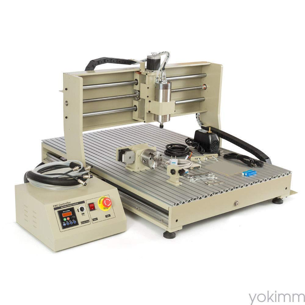 4Axis 6090 Router ENGRAVER Engraving Machine PCB Wood
