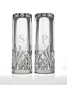 Godinger Silver Art Dublin Salt & Pepper Shakers