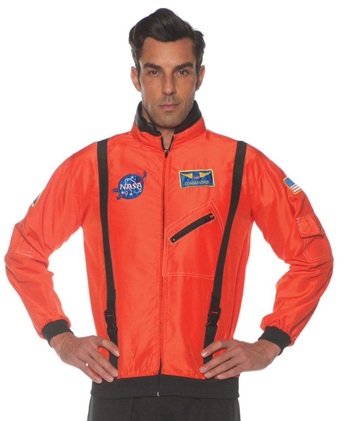 Underwraps Men's Orange Space Jacket