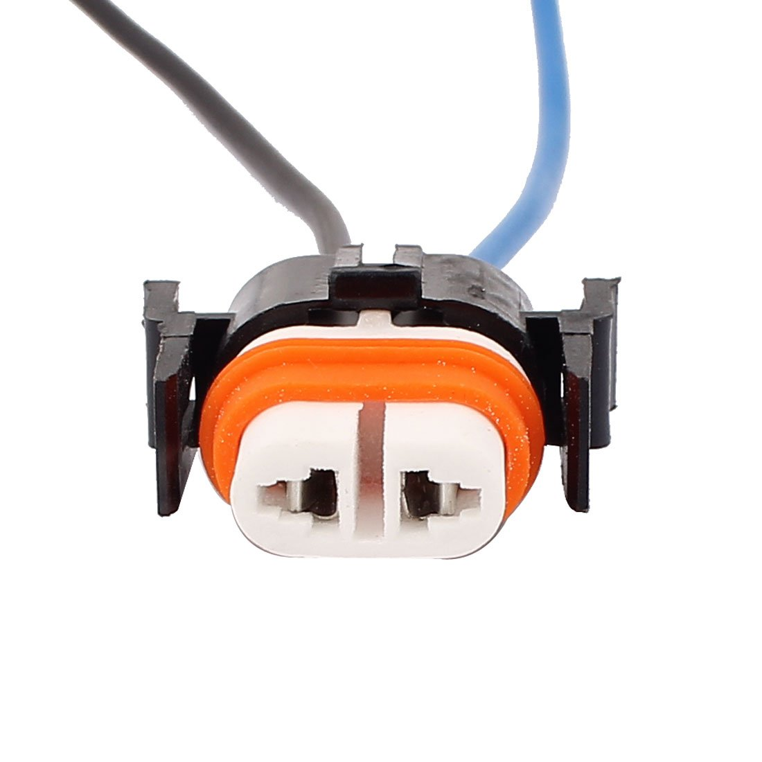Sourcingmap H11 Bulb 2 Wire Car Driving Light Headlamp Wired Harness Socket Connector