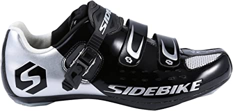 Selighting Zapatillas de Ciclismo Carretera Unisex Profesional con ...