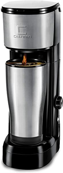 Chefman Instabrew Single Serve Coffee Maker Brewer