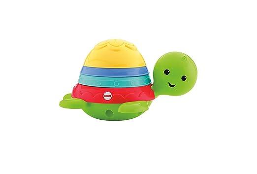 Fisher-Price Tortuguita Chip-chap, Juguete de baño bebé +6 meses (Mattel DHW16)