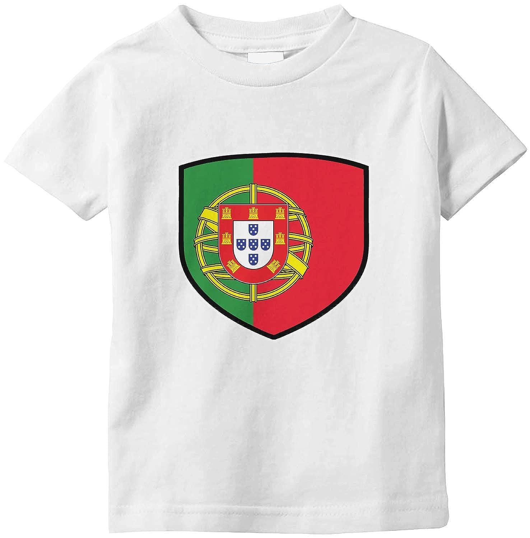 Amdesco Portugal Shield Portuguese Flag Infant T-Shirt