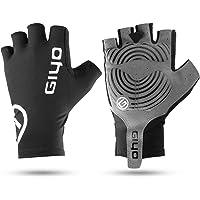 Honeytecs Cycling Gloves Breathable Half Finger Gloves Anti-Slip Riding Mitten Bike Gloves for Men Women