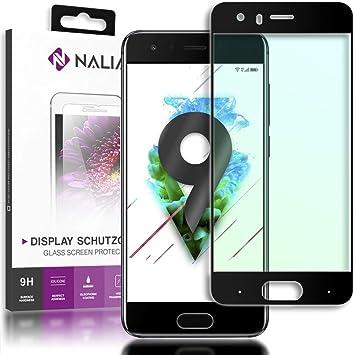 NALIA Cristal Templado Compatible con Huawei Honor 9, Vidrio ...