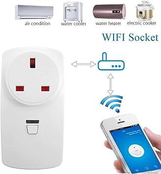 1X Smart WiFi Télécommande Timer Commutateur Puissance Socket Outlet EU Plug