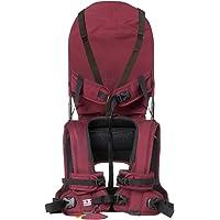 MINIMEIS G4 – Världsomspännande 1:a babyaxelbärare med ryggstöd – hopfällbart barn- och bärselsystem för maximal komfort…