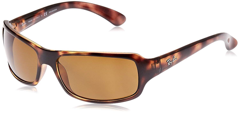 Ray-Ban Rb4075 Gafas de sol, Havana, 60 para Hombre
