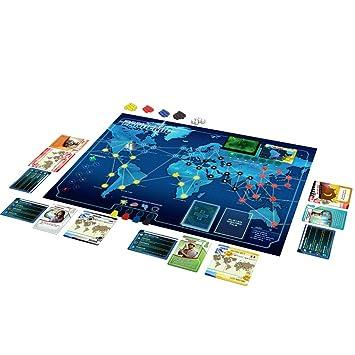 Mejor Juego Cooperativo: Asmodee Pandemic