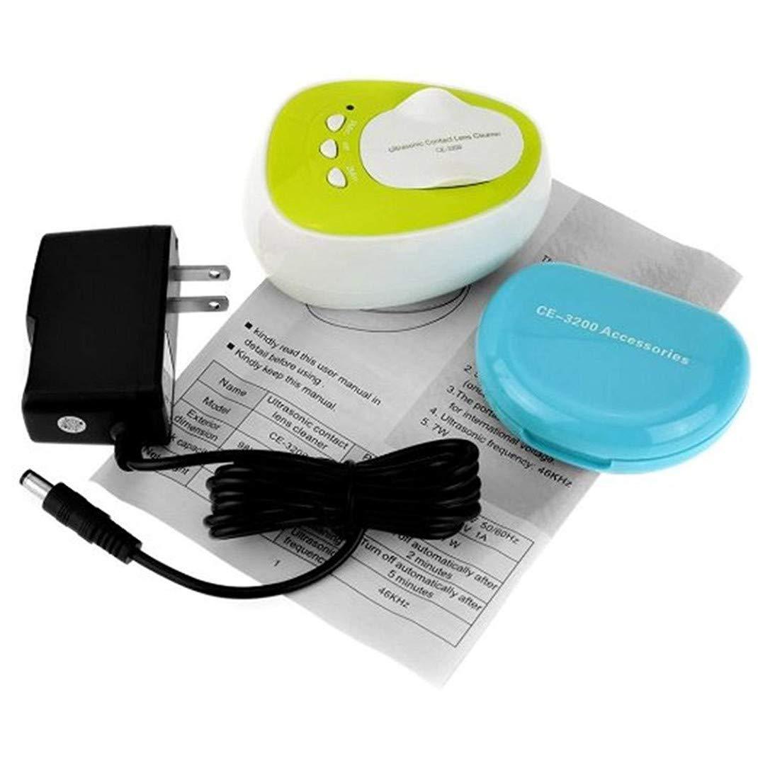 Limpiador ultrasónico, caja de lentes de contacto Limpiador ...