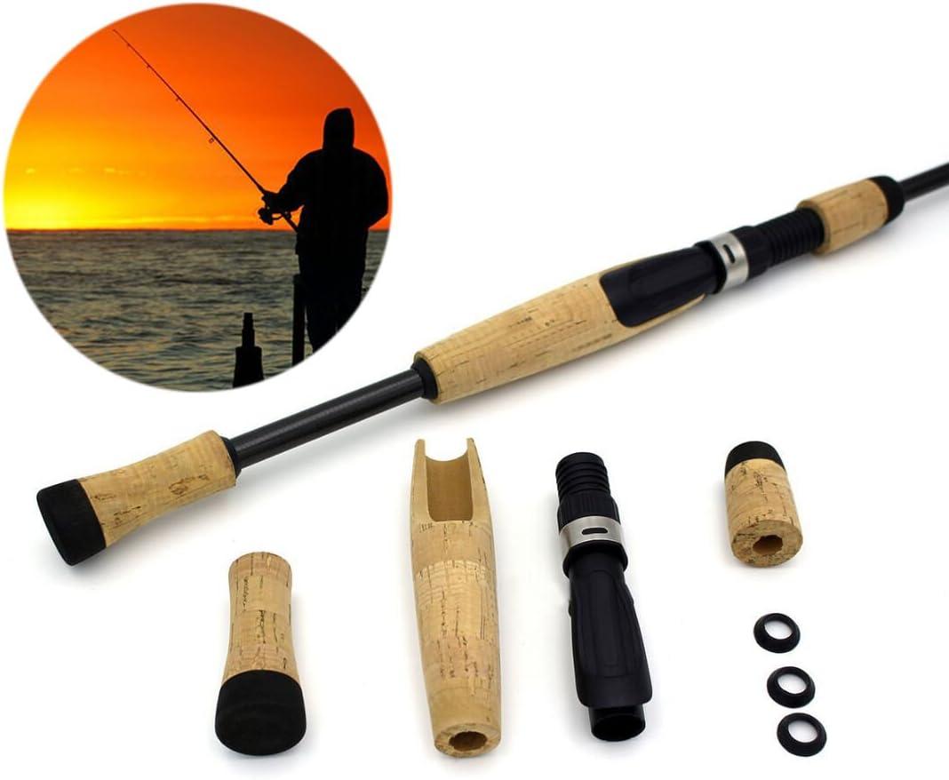 GohEun DIY Cork Fishing Rod Handle Reel Seat For Repair