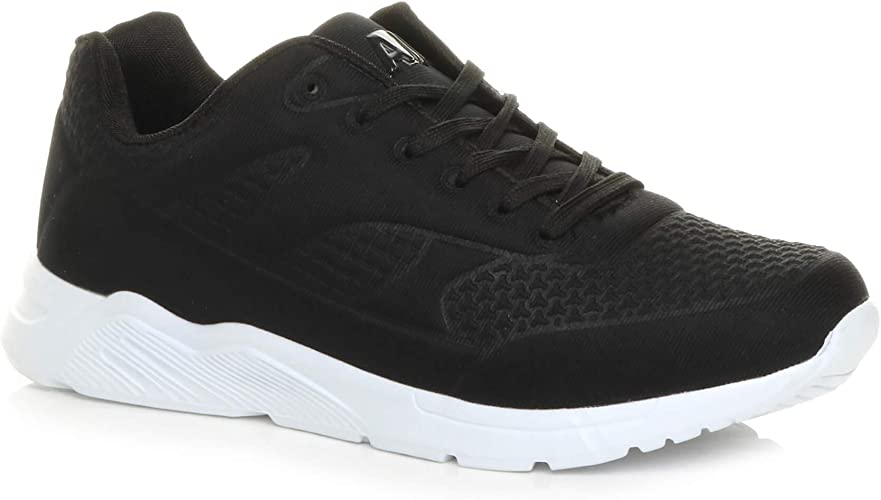Mens lace up Flexible Running Sport Gym