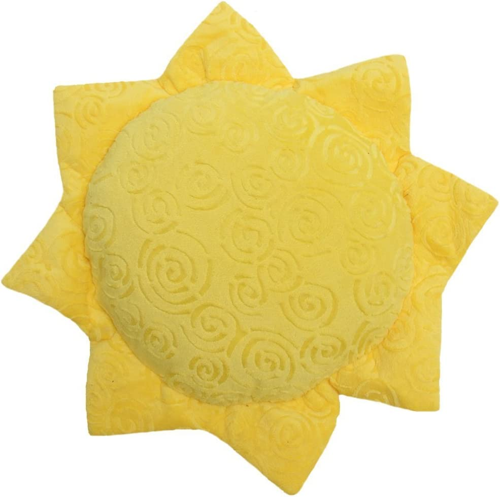 "Snuggle Stuffs Sun 14"" Minky Plush Throw Pillow"