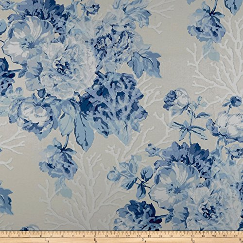 Ralph Lauren Home LCF68267F Meadow Lane Floral Chintz Porcelain Fabric by The Yard